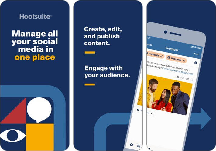 Hootsuite iPhone and iPad marketing app