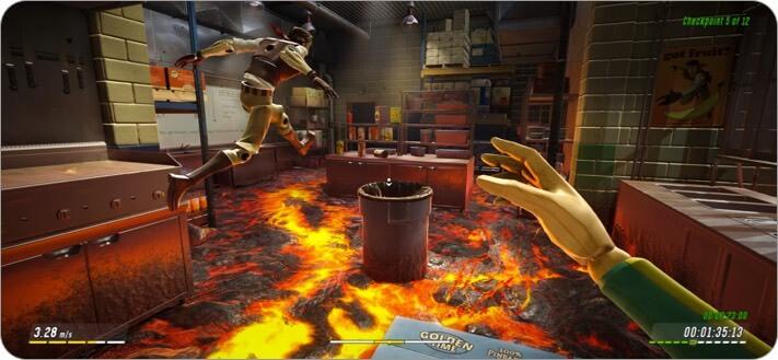 hot lava apple arcade game screenshot