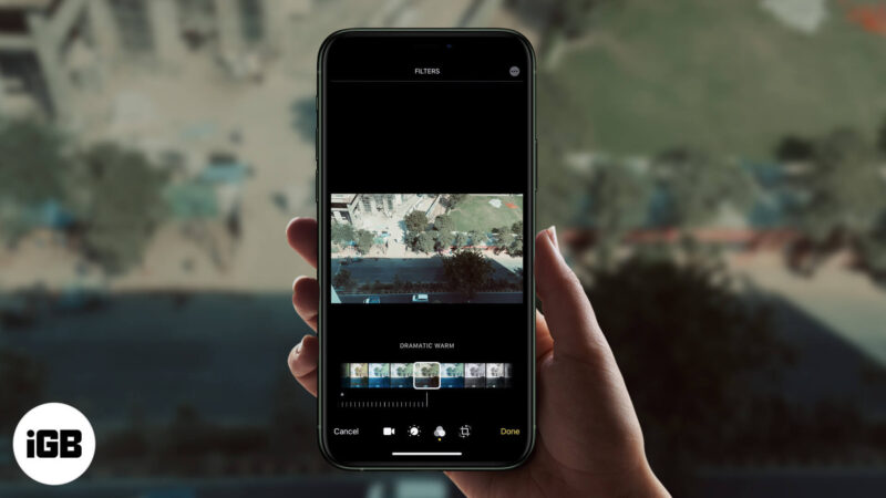 How to Add a Filter to Video on iPhone or iPad