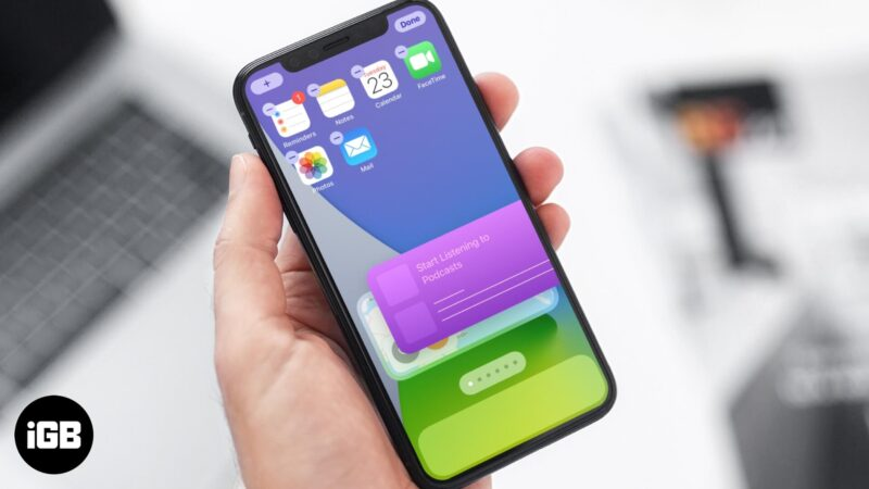 how to add and use home screen widgets in ios 14 on iphone