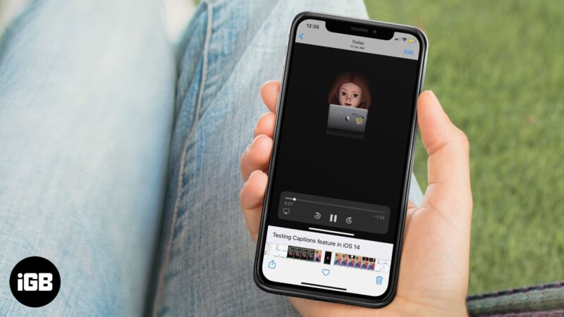 how to add caption to photos on iphone or ipad