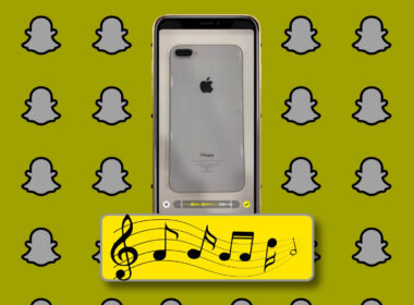 How to Add Music to Snaps or Stories in Snapchat