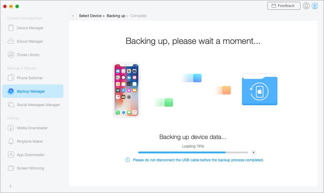 How to Back Up and Manage Your iPhone Using AnyTrans