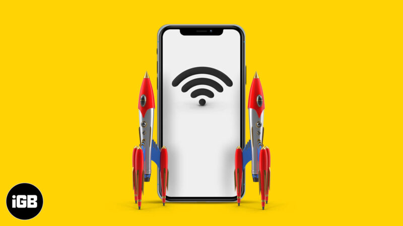 how to boost wi-fi signal on iphone and ipad