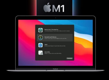 How to Boot your M1 Mac into macOS Recovery