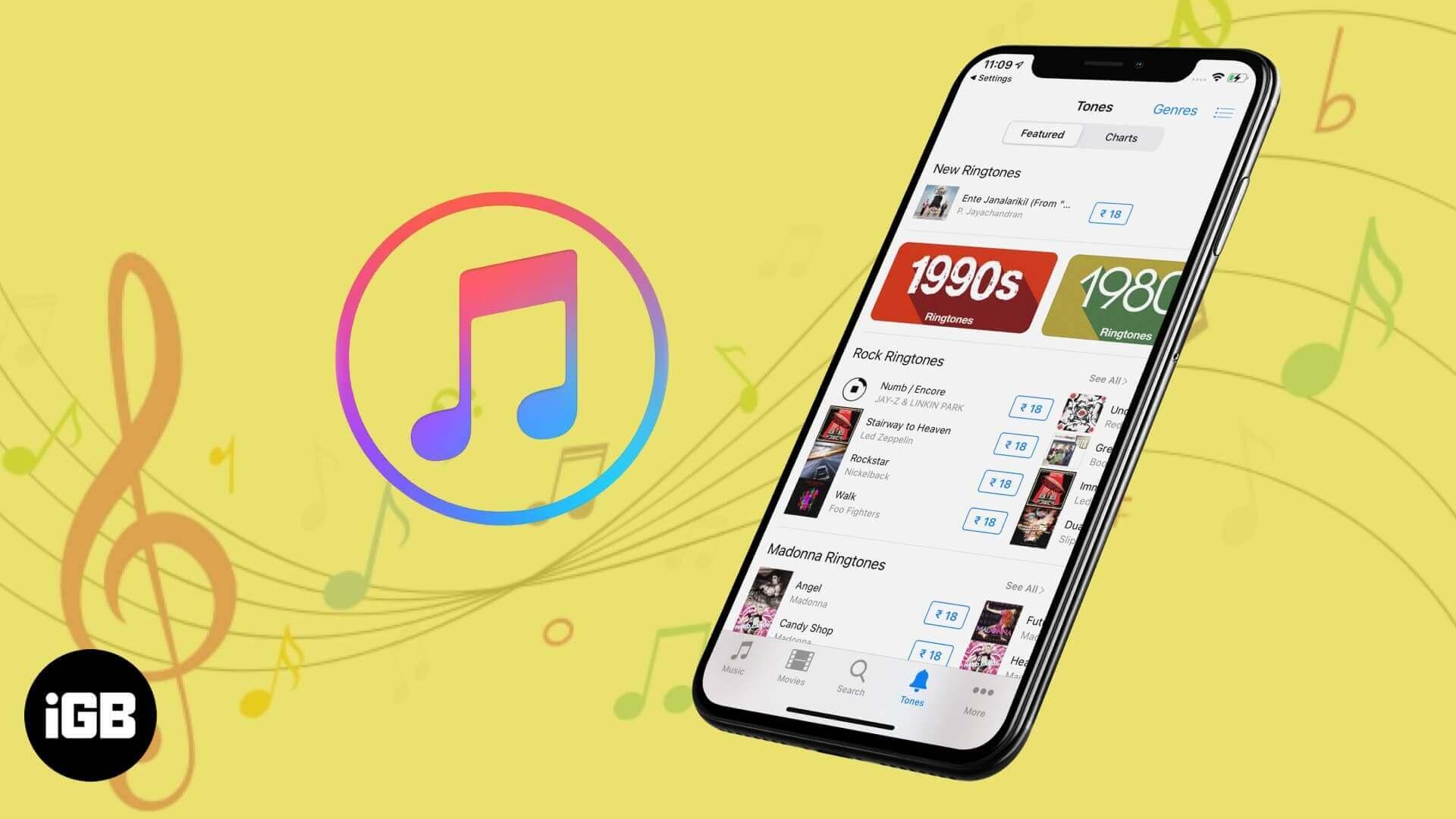How to Buy Ringtones on iPhone and iPad - iGeeksBlog