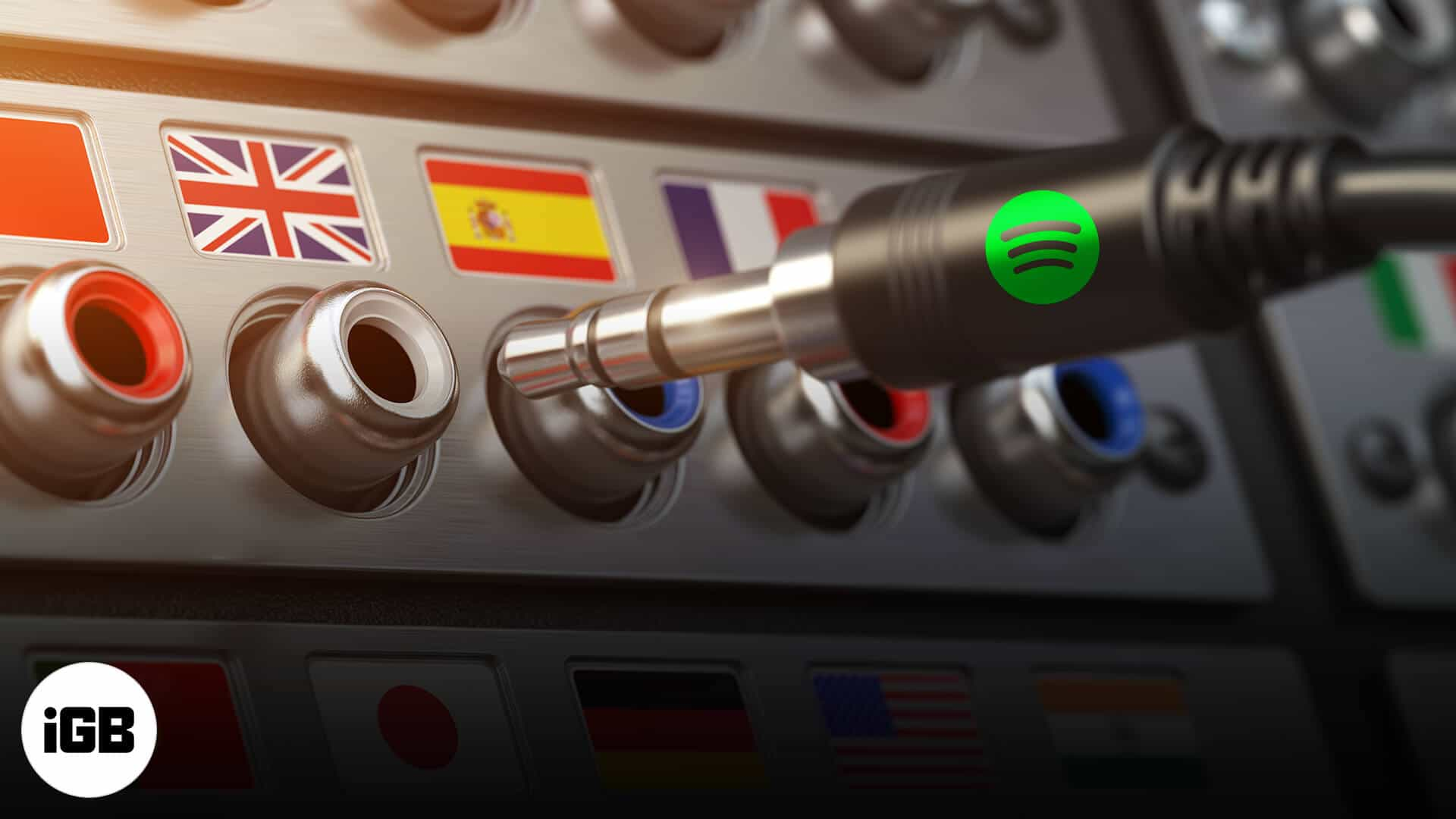 how to change spotify language