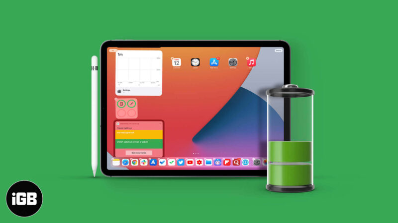 How to Check Apple Pencil Battery Level on iPad