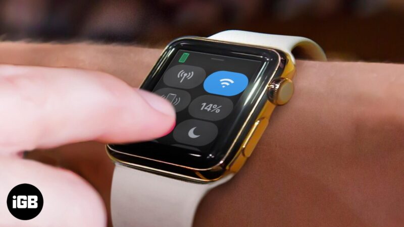 How to Check Apple Watch Battery Life