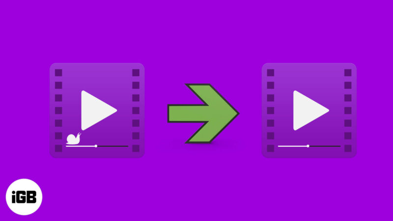 how to convert slow motion video to normal video on iphone and ipad