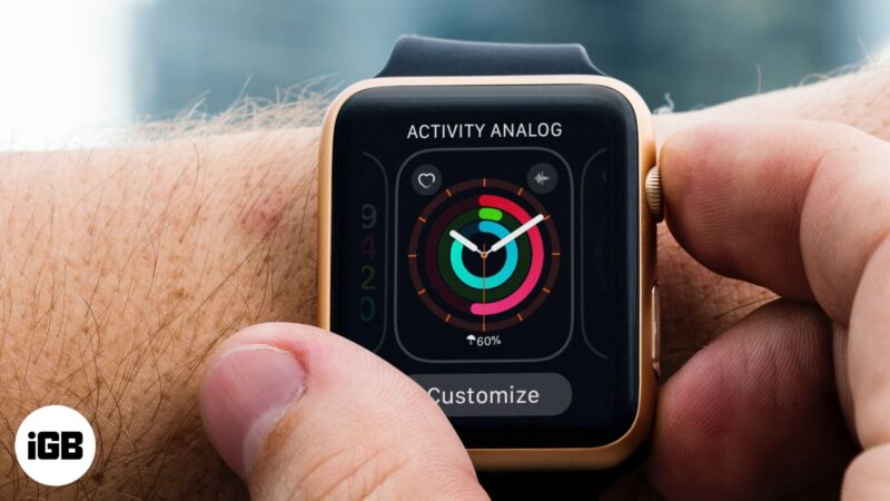 how to customise apple watch faces