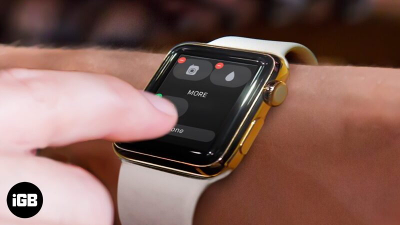 How to Customize Apple Watch Control Center