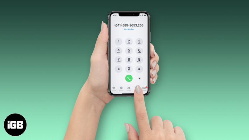 How to Dial an Extension on iPhone