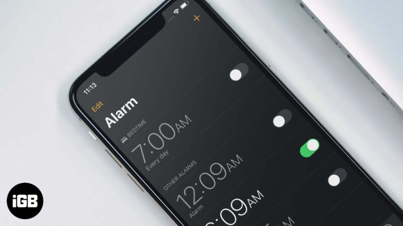 How to Delete Bedtime Alarm on iPhone and iPad