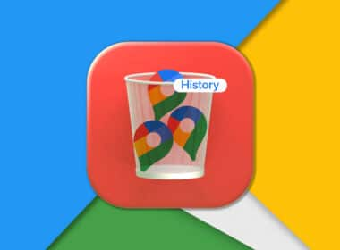 how to delete google maps search history