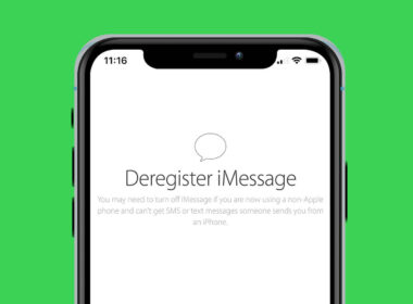 how to deregister number from imessage