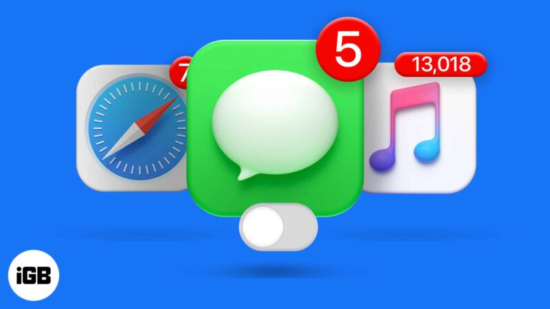 How to disable red notification badge from app icons on iPhone and iPad