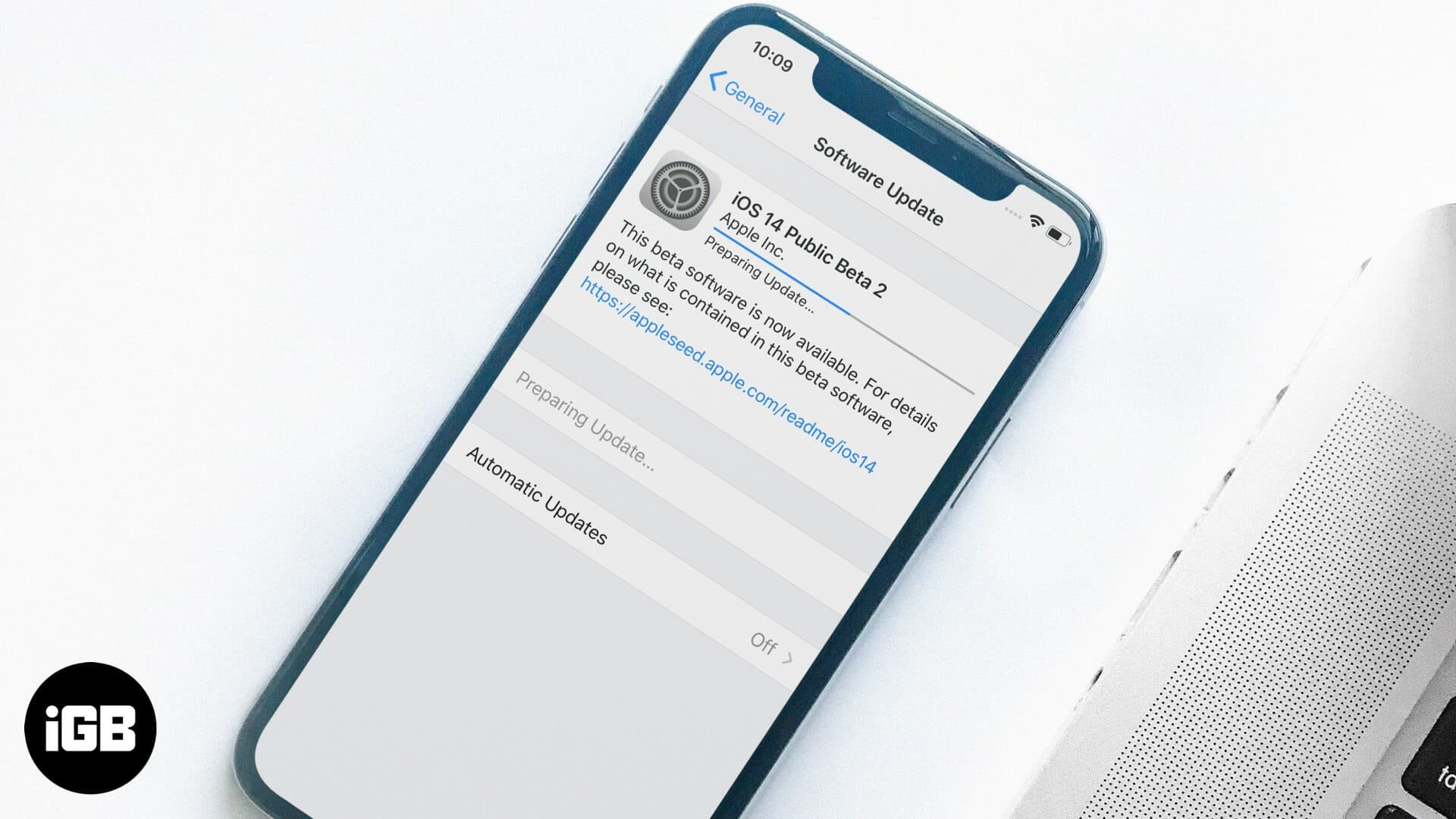 how to download ios 14 public beta