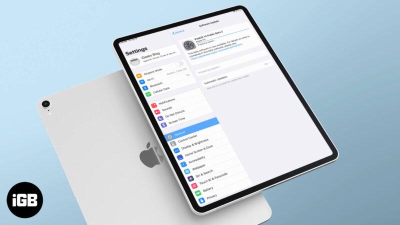 how to download ipados 14 public beta