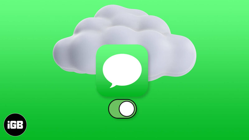 How to Enable Messages in iCloud on iPhone
