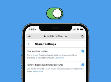 How to Enable Safe Search Mode in Twitter