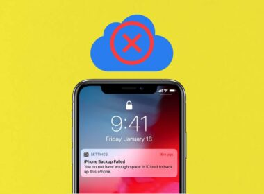 How to Fix iCloud Backup Failed on iPhone or iPad