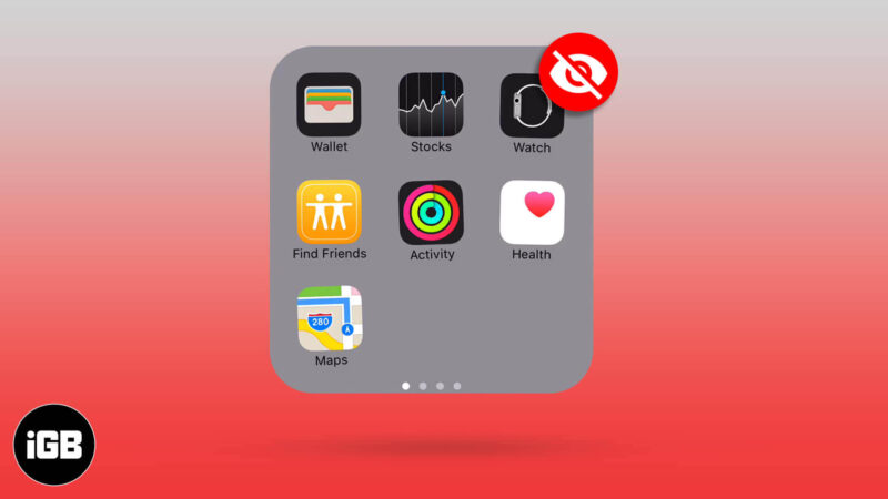 How to Hide Apps on iPhone and iPad