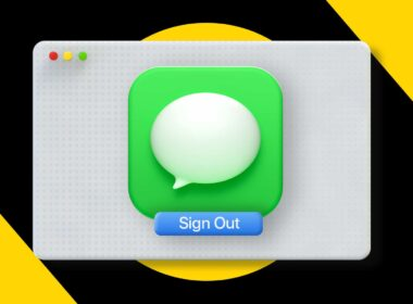 How to log out of iMessage on Mac