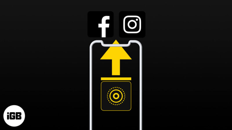 How to Post Live Photos on Instagram and Facebook from iPhone