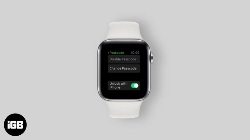how to reset apple watch password