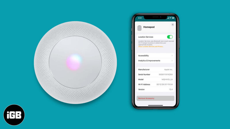 How to Reset HomePod or HomePod Mini to Factory Settings