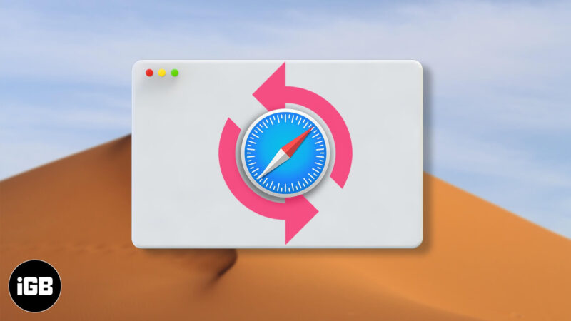 how to restore deleted bookmarks in safari on mac