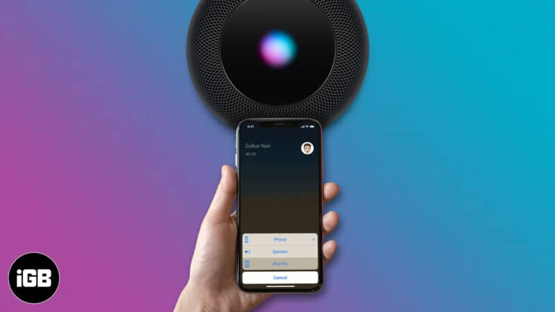 how to route iphone calls to bluetooth speaker