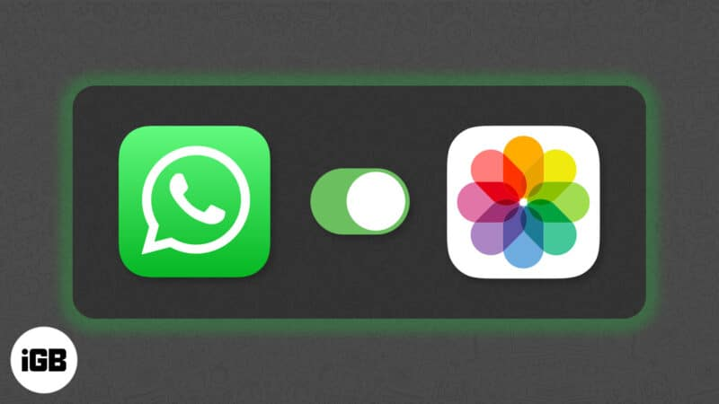how to save whatsapp photos to iphone camera roll manually