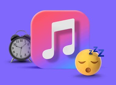 How to set a sleep timer in Apple Music