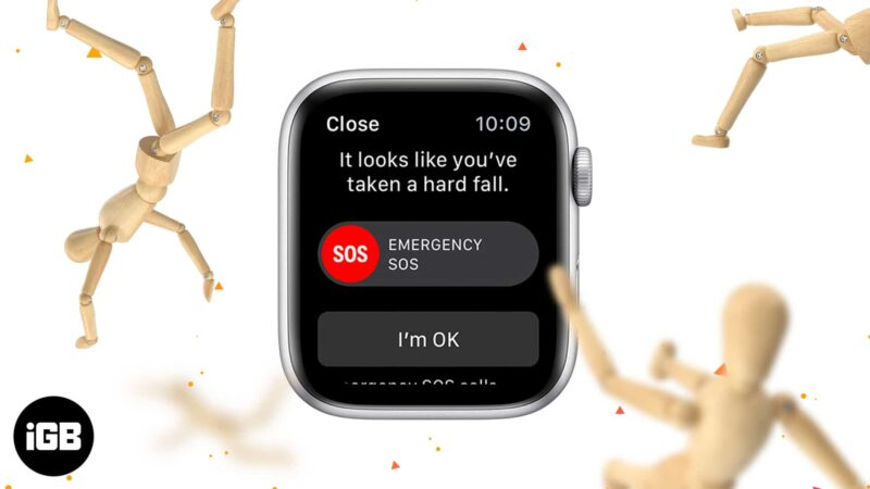 How to set up and use fall detection on Apple Watch