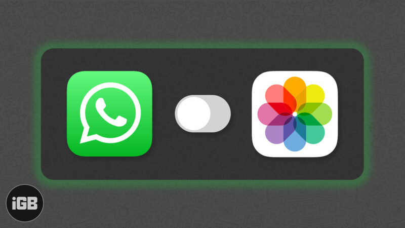 how to stop whatsapp from saving photos to iphone camera roll