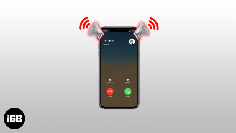how to turn on announce calls on iphone