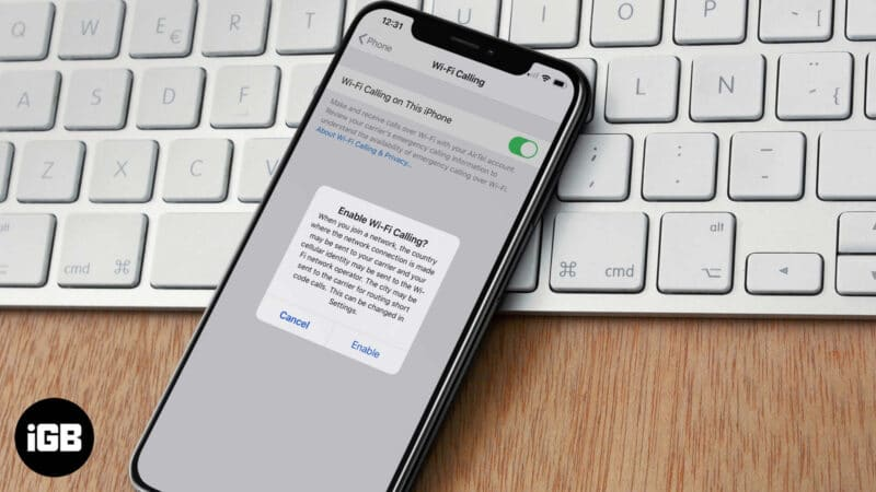 How to Turn on WiFi Calling on iPhone