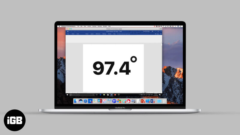 How to Type Degree Symbol on Mac