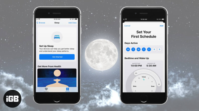 How to Use Bedtime on iPhone to Track your Sleep