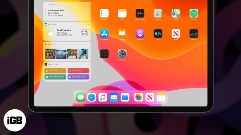 How to Use Dock on iPad
