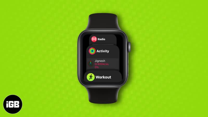 how to use dock on your apple watch