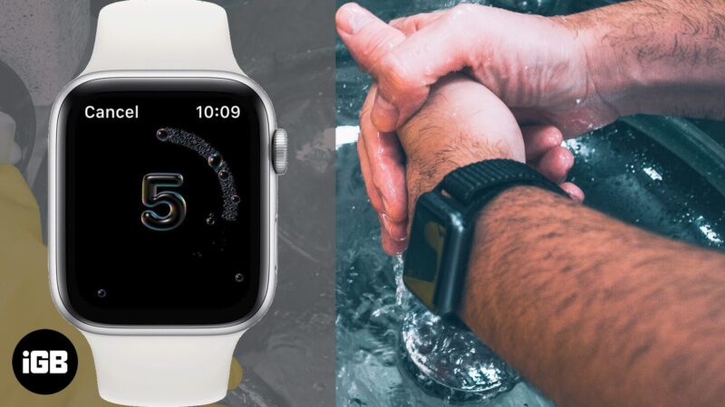 how to use handwashing feature on apple watch