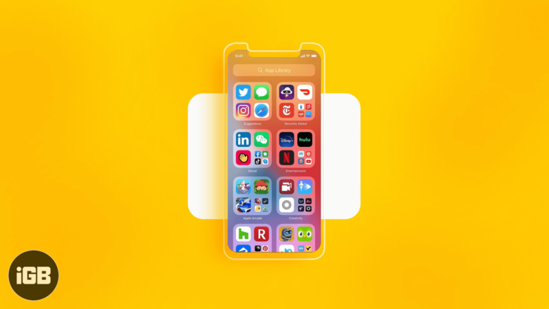 How To Use iPhone App Library In iOS 14.