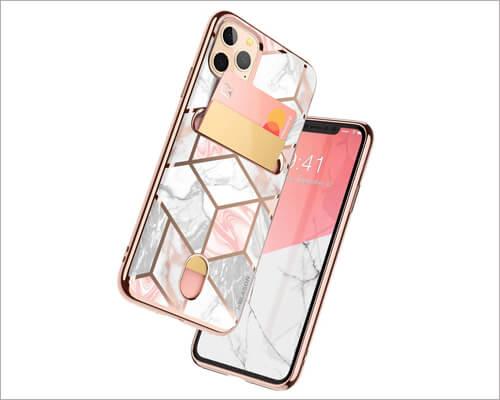 i-Balson Wallet Slim Designer iPhone 11 Pro Max Case for Women
