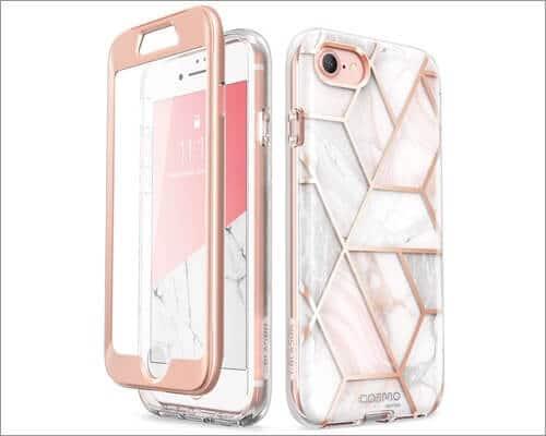 i-Blason Stylish Bumper Case for iPhone SE 2020