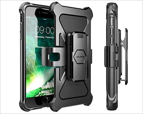 i-Blason iPhone 8 Plus Belt Clip Holster Case