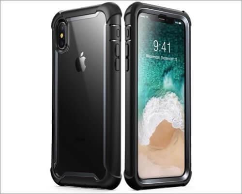 i-Blason iPhone Xs Max Military Grade Clear Case
