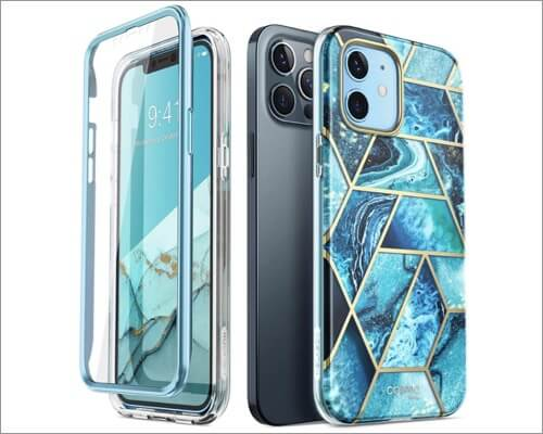 i-Blason Cosmo Series Bumper Case for iPhone 12 and 12 Pro